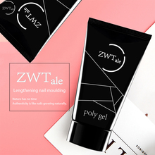 ZWTale 30ml Crystal Extend UV Nail Gel Extension Builder Led uv gel Art Lacquer Jelly Acrylic Poly