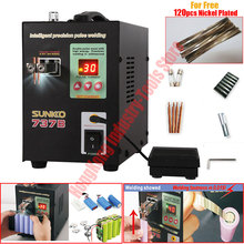 New Version 1.5KW Spot Welder Machine for 18650 Batteries Spot Welding Machine LED illumination Digital Display Pulse Welding ny d04 40a 100a digital display spot welding machine controller time panel board oct10