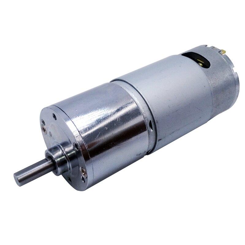 GB37RH 24VDC 37mm 5/10/15/20/30/40/45/60/80/100/120/150/200/300/400/500/600/840/1000RPM output speed Gear motor shaft output цена и фото