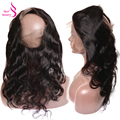 360 Lace Frontal Body Wave Ear To Ear Lace Frontal Closures With Baby Hair Brazilian Virgin Human Hair Lace Closure 360 Frontals