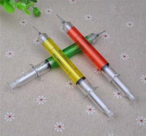 Image 5 - 30 قطعة/الوحدة ، 0.5 ملليمتر إبرة الحقنة أقلام الميكانيكية ، الجدة الحقنة قلم الميكانيكية و مدرسة قرطاسية