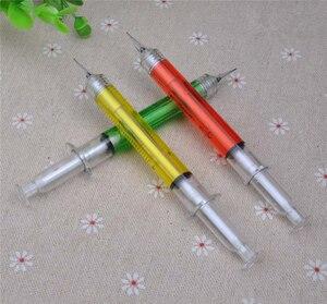 Image 5 - 30pcs / lot ,0.5mm Needle Syringe mechanical pencils , Novelty Syringe mechanical pencil as school stationary