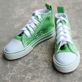 [wamami] 1/3 Green BJD DOD SD LUTS Dollfie Doll Canvas Shoes Sneaker