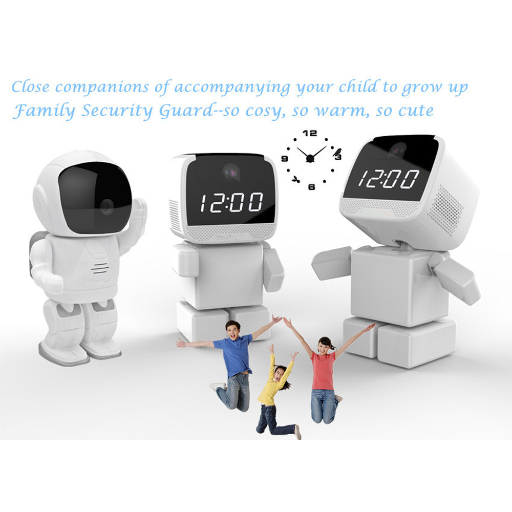 Home Security Wireless Robot IP Cameras 960P HD Baby Monitor WiFi Phone Remote Surveillance Wi fi