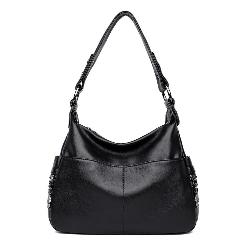 Luxury Handbags Women Bags Designer Top Handle Bags For Women 2018 Casual Tote Messenger Bag Bolsa Feminina Sac Femme in Top Handle Bags from Luggage Bags