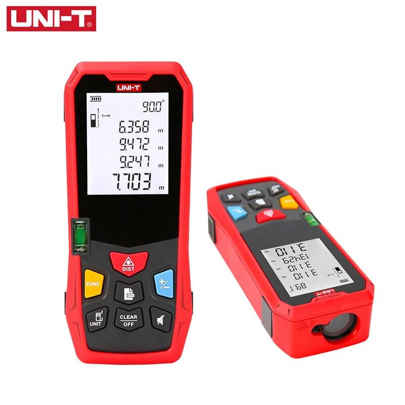 UNI-T Digitale Laser Abstand Meter Entfernungsmesser 80 m 100 m 120 m 150 m Maßband Telemetro Trena eine laser profissional