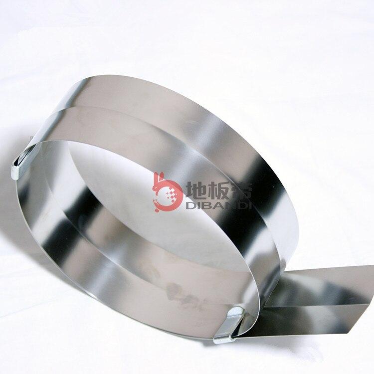 PVC plastic floor construction tools stainless steel ruler 0 55X80X2000mm steel tape measure