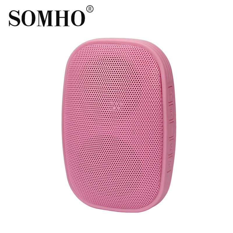 Original SOMHO S325 Waterproof Mini Speaker Port Til Bluetooth Portable Speakers with fm radio