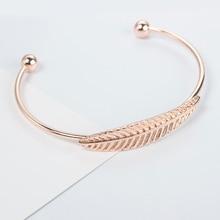 2019 Fashion Adjustable Bracelet Simple Summer Intimate Metal Accessories Wristband Retro Sweet Open