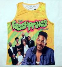 5dcd484913b REAL American US SIZE 2 Styles Fresh Prince 3D Sublimation Print Tank top  plus size 4xl