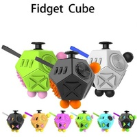 Squeeze Fun Stress Reliever Fidget Cube 2 Relieves Anxiety And Stress Juguet 12 Tactile For Adults