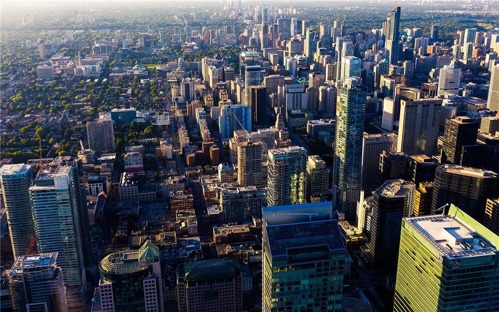 Modern Decor Art HD Printed Toronto Canada Landscape City
