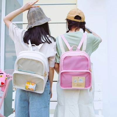 Transparent Holographic Backpack Women School Backpacks For Teenage Girls  Fashion Travel Rucksack Printing Backpack Teenage