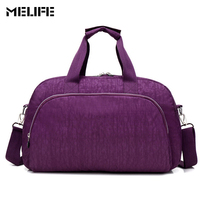 MELIFE Men Women Gym Bag Fitness Outdoor Travel Sports Training Messenger Bags Waterproof Duffle Clothes Gym