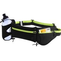 Unisex Breathable Anti theft Waist Bag with Water Bottle Holder Portable Waterproof Neoprene Fanny Pack Adjustable Waist Belt