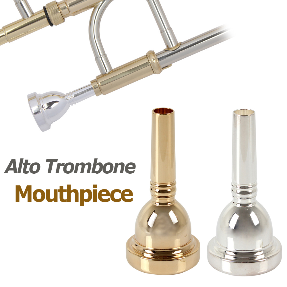 6.5AL Copper Alloy Alto Trombone Mouthpiece (Golden / Silver Optional)