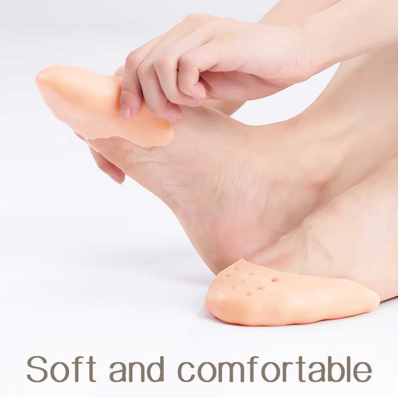 מקצועי בלט רקדנית רך סיליקון ג 'ל כרית הבוהן בלט Pointe נעלי רפידות טיפוח כף רגל מגן
