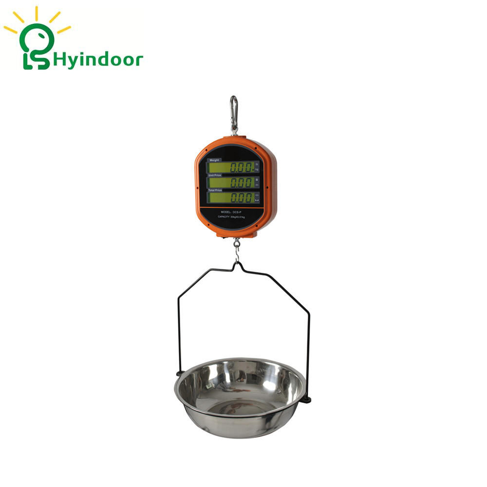 Capacity 6kg Price Computing Hanging Weighing Scales with Tray (YDS-P6) different colors wall mounted clothes hook bathroom towel hanger crystal