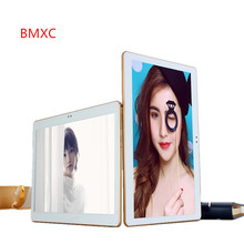 BMXC10 pulgadas MTK8752 Octa Core 3G WCDMA smartphone Tablet pc 4G RAM 32G ROM 1280*800 IPS Android 5.1 WIFI GPS bluetooth pc tablet