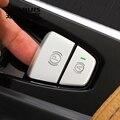 Автомобильный Стайлинг P электронный ручной тормоз кнопки металлическое украшение покрытие стикер для отделки для Volvo XC60 XC90 S90 авто аксессу...