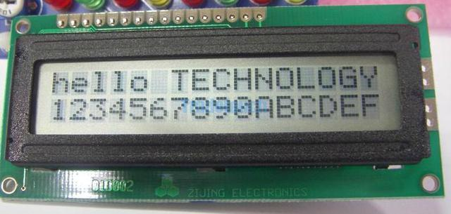 1602 dot matrix LCD Display Module Screen