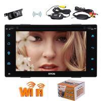 Quad Core autoradio 2 din android 6.0 radio gps navigation car dvd player 2din steering wheel Rear View Camera WIFI TV (Option)