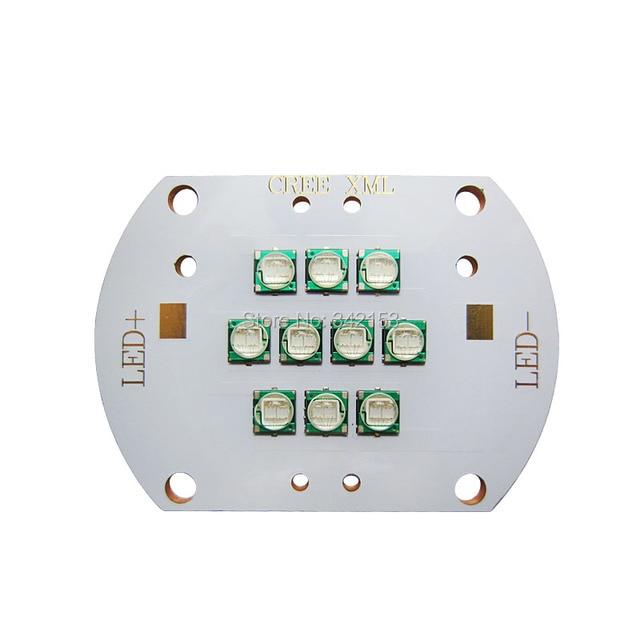 50W Epileds 5050 UV 395NM Led Emitter Lamp Light 38-42V 1000-1200mA Purple Lamp Lighting On Copper PCB Board