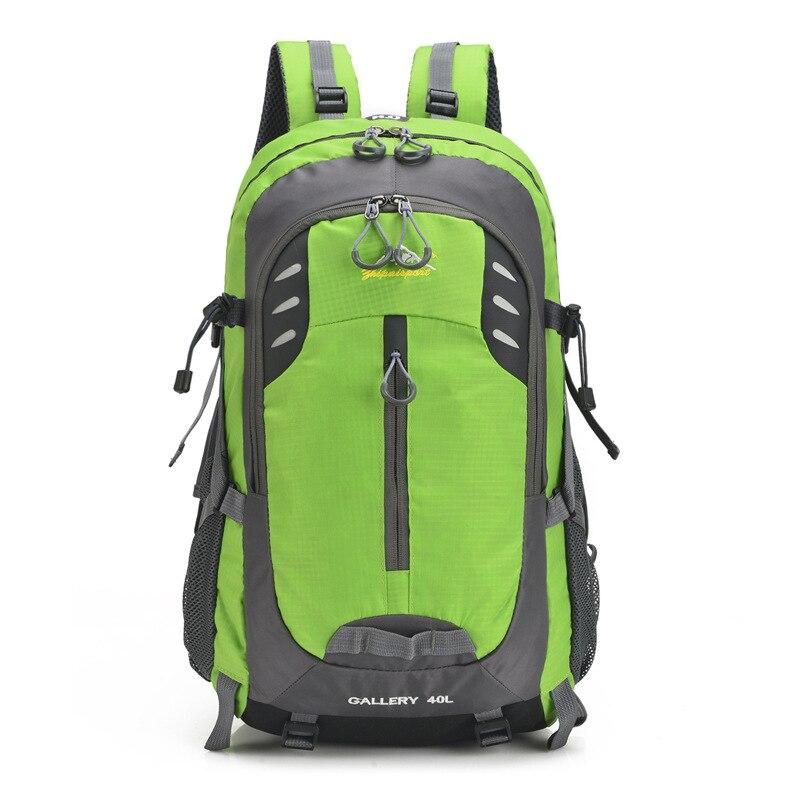цена на 40L Travel Backpack Bag Men Women Multifunction Large Capacity Outdoor Backpack Water-Resistant Laptop Backpack Hiking Rucksack