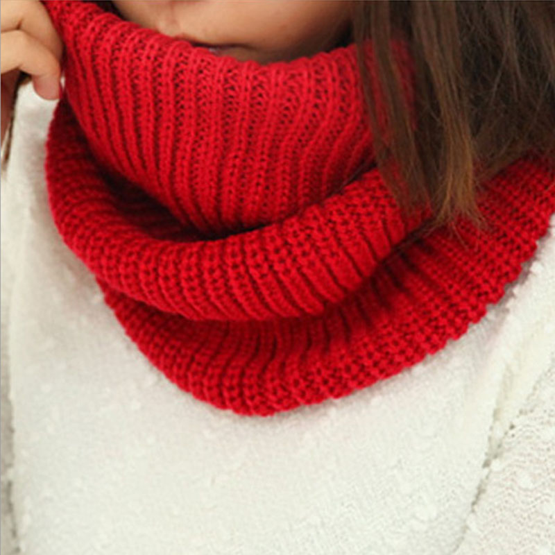 Hot Sale Multi-Purpose Scarf Unisex Knitting Wool Collar Neck Winter Warmer Women and Men Scarves*39