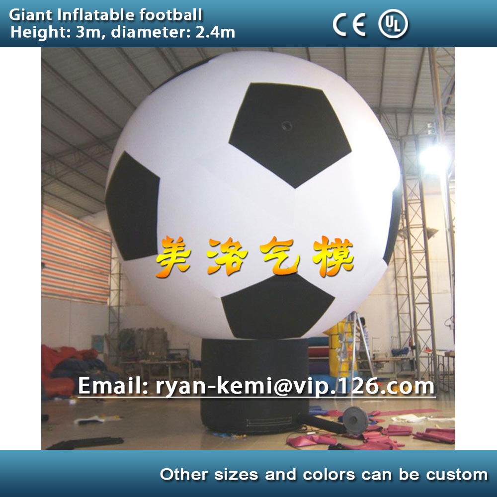 Free shipping giant inflatable football model large inflatable soccer balloon for football game advertising free shipping ce certificated inflatable football pitch inflatable soccer court soapy stadium for sale