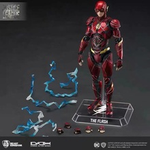 BK DC Justice League Dah-006 dynamic Action the flash Moveable Figure Figma