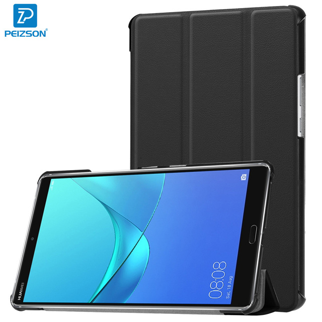 big sale 416a3 02bfa US $13.99 |Cover for Huawei MediaPad M5 8.4 Case,Flip PU Leather Tablet  Case for Huawei MediaPad M5 8.4 Cover With Auto Sleep Function+Pen-in  Tablets ...