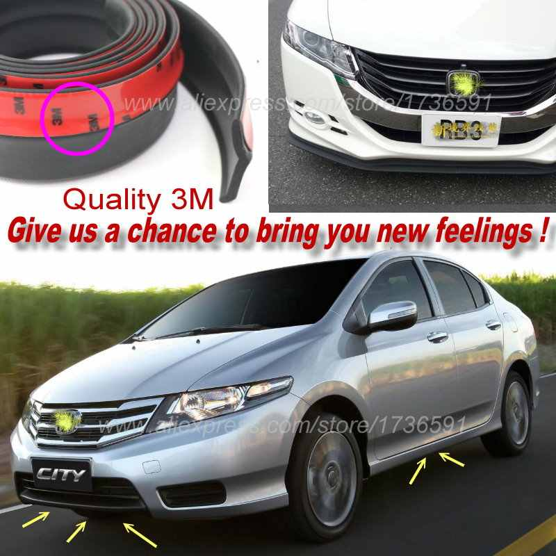 Body Front Side Back Bumper Spoilers Lip Lips For Honda City Type Zp Zx S Fit Aria Everus S1 Ballade Grace For Car Tuning View
