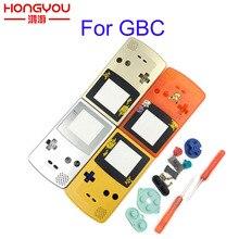 Dla GBC edycja limitowana Shell zamiennik dla Gameboy Color GBC konsola do gier pełna obudowa