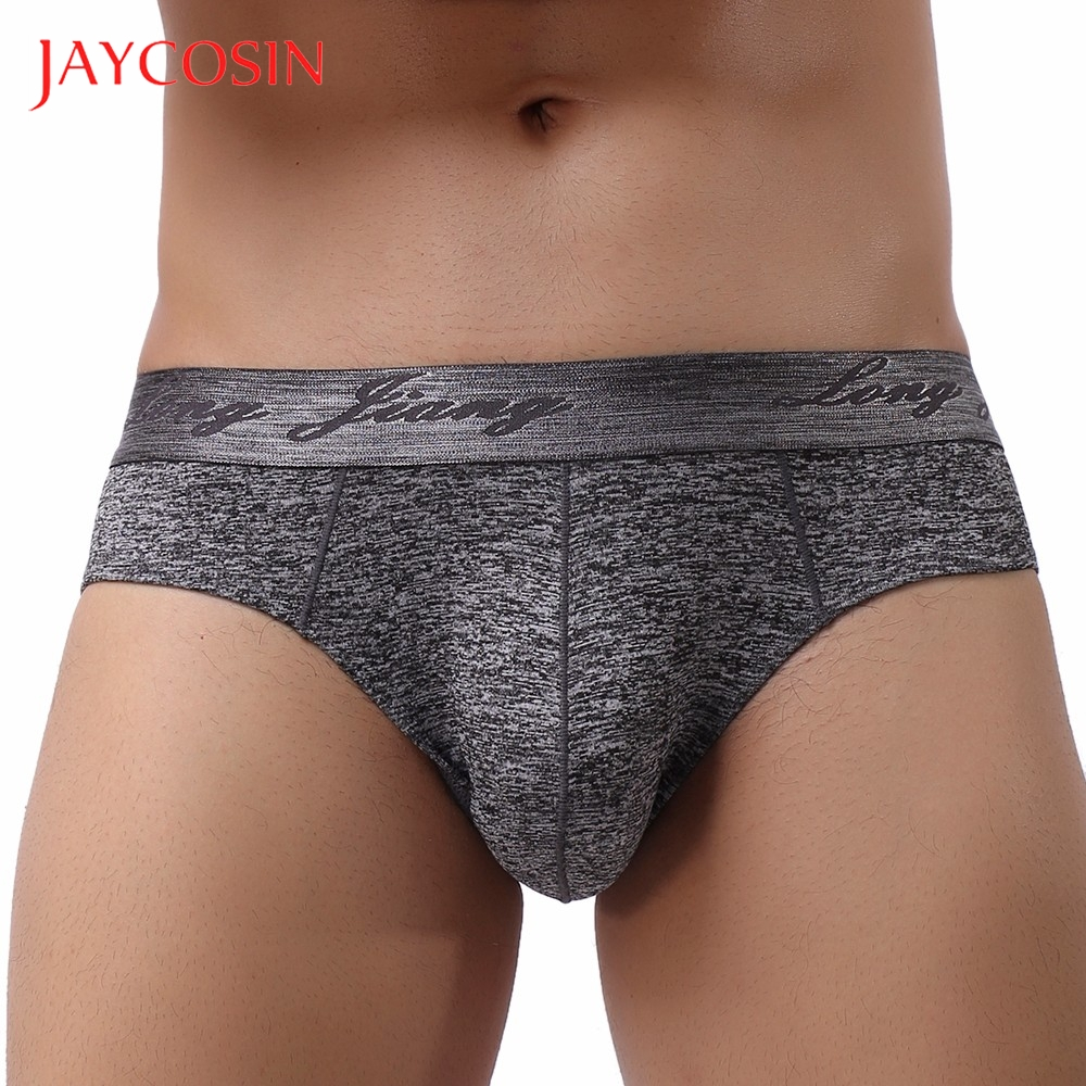 JAYCOSIN Soft  Men's  Underpants Knickers Shorts Sexy Underwear Sexy Mens Stretch Breathable Swimming Trunks