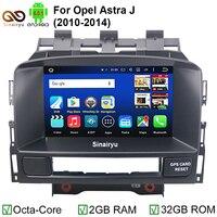 2 GB RAM Octa Core Saf Android 6.0.1 Araba DVD PC Video Oynatıcı Opel Astra J için GPS Bluetooth Ile DVR 4G WiFi HD 1024*600 piksel