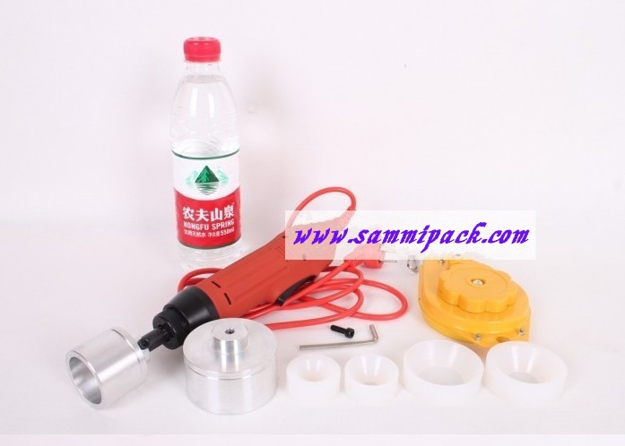 Free shipping, Manual bottle screw capping machine, easy operation adjustable capper,cap sealer (seal size:10-50mm)  цены