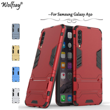 For Samsung Galaxy A50 Case Armor Rubber Slim Hard Back Phone Silicone Cover Fundas