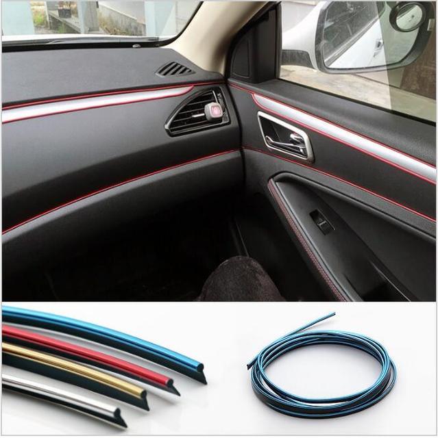 5 m auto styling interieur versieren accessoires voor renault megane 2 3 4 lada kalina opel
