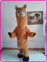 mascot Llama Mascot Costume carnival costume party Cartoon Character Anime Cosplay Costumes Fancy Dress Kits