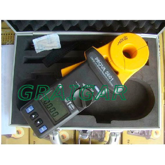 TES PROVA-5601 Non-Contact Clamp-on Ground Resistance Tester Meter 23mm Jaw 30A
