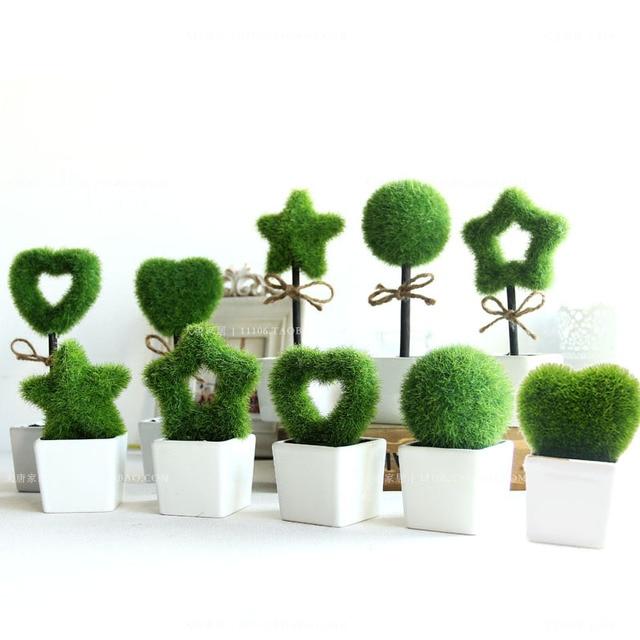 Mobilier vert bonsa plante artificielle mode cr ative for Plantes artificielles occasion