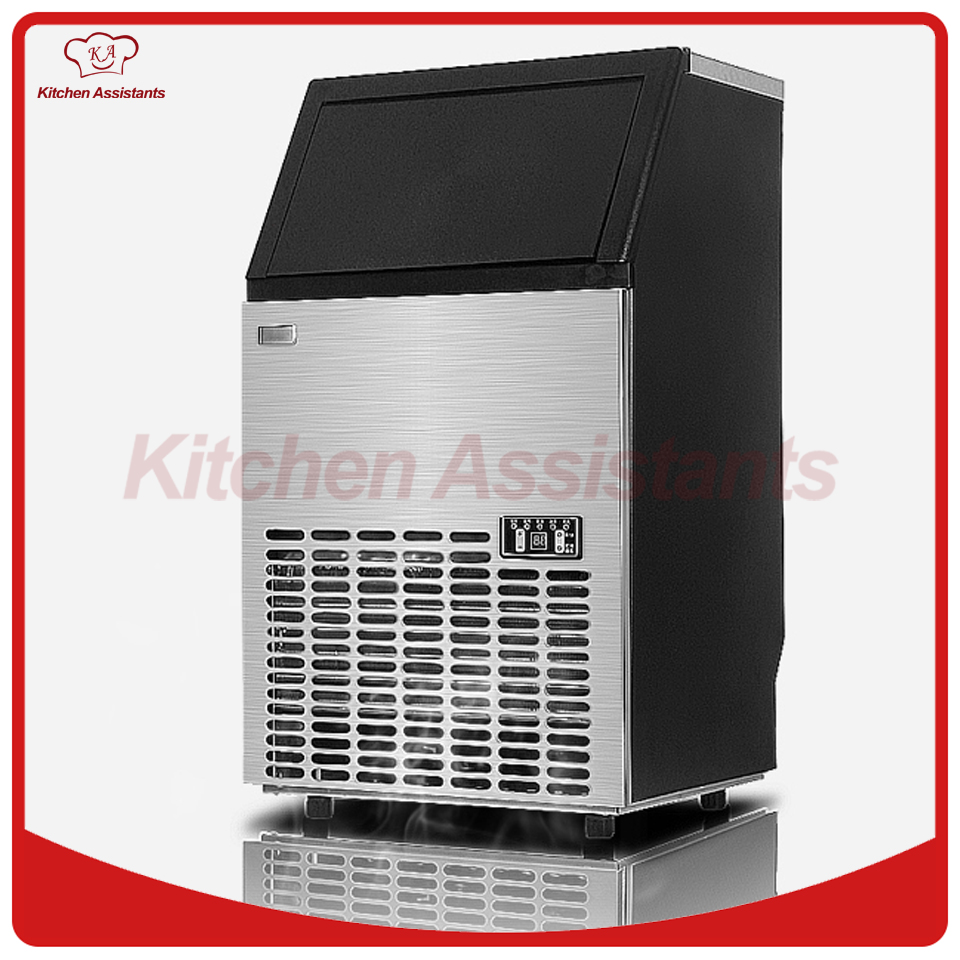 HZB50 HOT 50kgs/24H Automatic ice Maker, Household ice cube making machine for commercial use for bar for coffee shop,