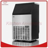 HZB50 SıCAK 50kgs/24 H Otomatik buz Makinesi, ev buz küpü yapma makinesi için bar kahve dükkanı için ticari kullanım için,