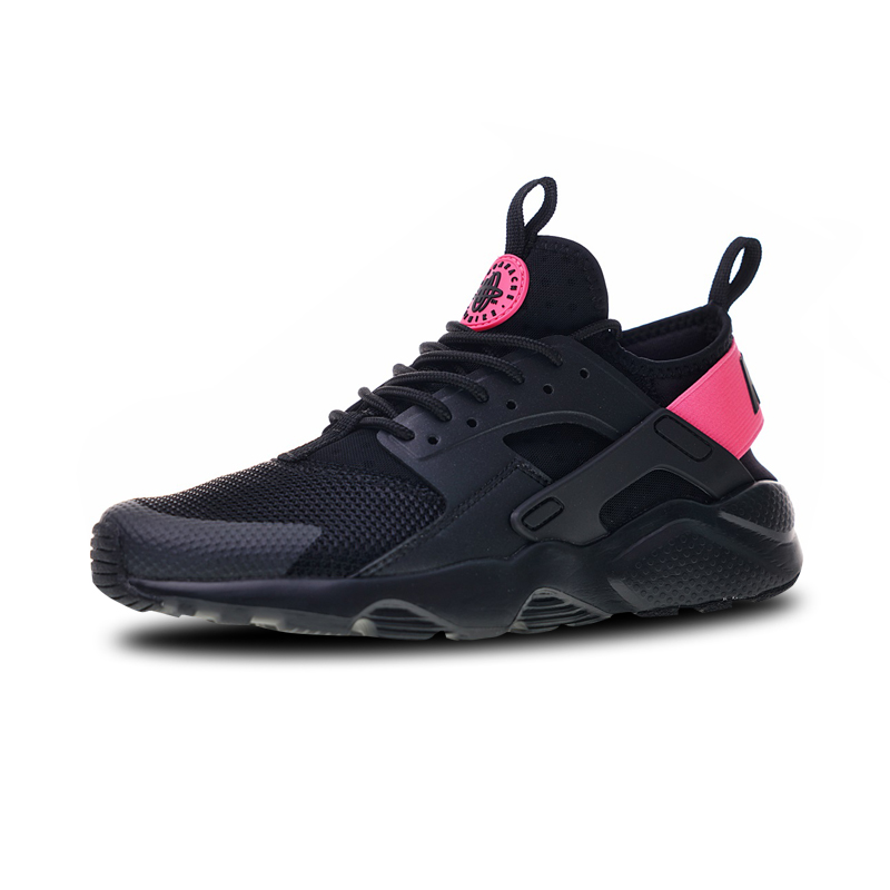 af40180df759 Nike Air Huarache Run Ultra 4 Sneakers Sports Shoes Black Pink Running Shoes  For Men And Women 847568-003 36-44
