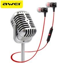 AWEI A920BL воротничок беспроводные наушники для телефона магнитные bluetooth наушники с микрофоном bluetooth гарнитура  к телефону блютуз наушники микронаушник
