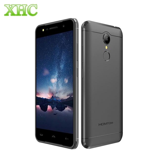 HOMTOM HT37 16GB Smartphone 3000mAh 5.0'' 2.5D Android 6.0 MTK6580 Quad Core 1.3GHz WCDMA 3G Dual SIM Fingerprint Mobile Phone