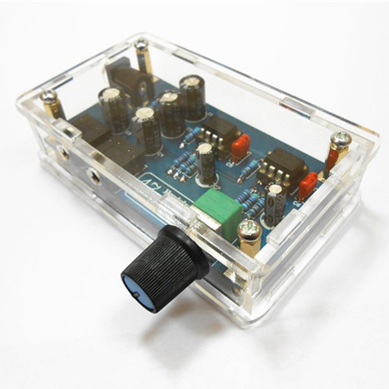 Electronic Equipment Supplies Amp Services : Single power supply portable hifi headphone amplifier pcb