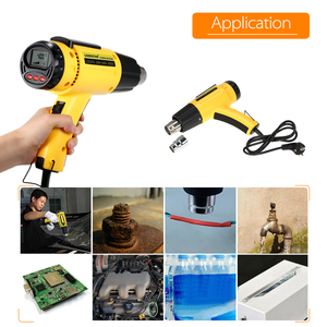 Image 4 - 2000W AC220 LODESTAR Digital Electric Hot Air Gun Temperature controlled Heat IC SMD Quality Welding Tools Adjustable + Nozzle