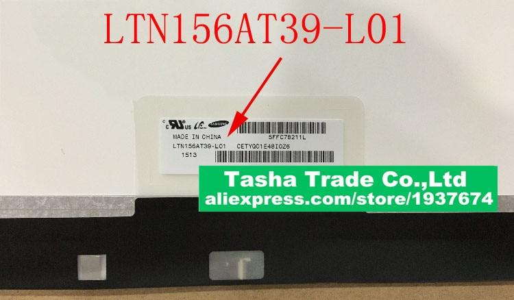 LTN156AT39-L01 LTN156AT39 L01 Laptop Screen LCD Screen 1366*798 EDP 30PINS for asus zenbook ux32a laptop screen m133nwn1 r1 m133nwn1 r1 lcd screen 1366 768 edp 30 pins good original new